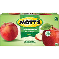 Mott's Snack & Go Natural Applesauce 3.2 oz 12 ct