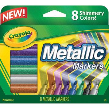 Crayola Metallic Markers-8/Pkg