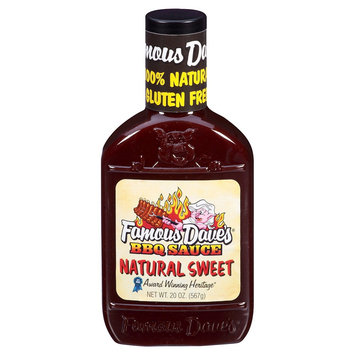 Famous Products Famous Dave's Natural Sweet Barbeque Sauce 20 oz