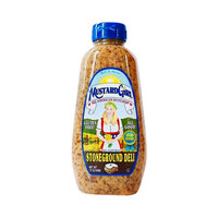Olds Products Mustard Girl Stoneground Deli Gluten Free Mustard 12 oz