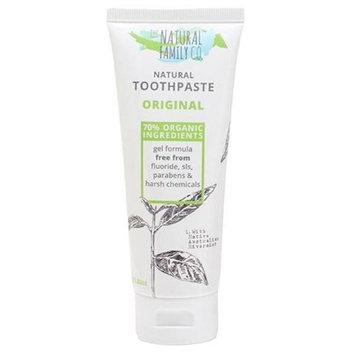 The Natural Family 232480 3.88 oz Rivermint Fluoride-Free Toothpaste Original