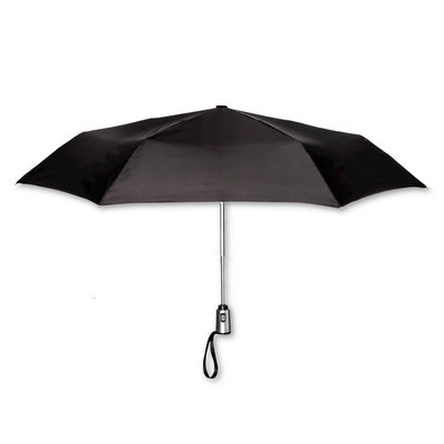 ShedRain Compact Auto Open/Close Umbrellas - Black