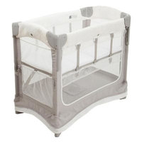 Arm's Reach Concepts Ezee Mini Luxe 2-in-1 Co-Sleeper Bedside Bassinet