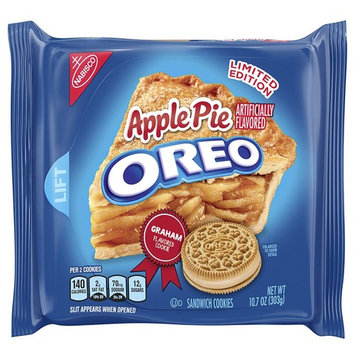 Oreo Limited Edition Apple Pie Sandwich Cookies, 10.7 oz [Apple Pie]