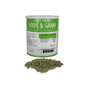 Handy Pantry Organic Green Pea Sprouting Seeds - Sprout Seed Peas for Sprouts -5 Lb