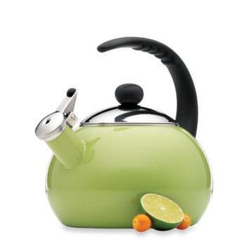 FarberwareA Luna 2 1/2-Quart Tea Kettle in Green