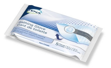 Bathing Glove Wipe Tena Soft Pack Unscented Case of 225