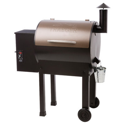 Unlisted No Company Info Pellet Grills: Traeger Lil' Tex Elite Wood Pellet Grill, Black
