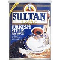 Sultan Coffee Grnd Dark Turkish Can 14 OZ -Pack Of 6
