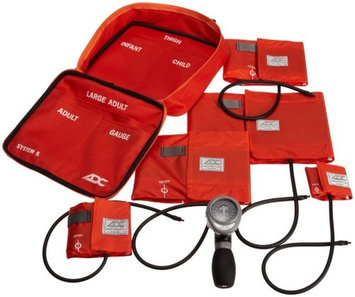 ADC SYSTEM 5 Palm Multicuff Blood Pressure Kit, Orange