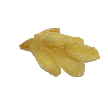 NUTS U.S. Dried Crystallized Ginger Slices in Resealable Bag