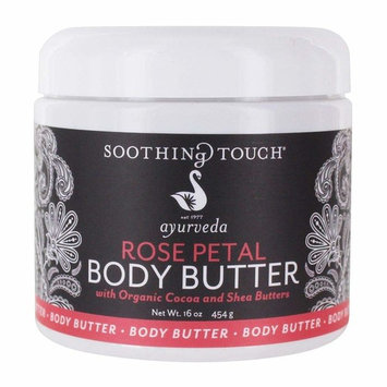 Soothing Touch - Ayurveda Body Butter Rose Petal - 16 oz. [Rose Petal]