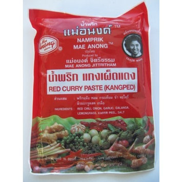 Mae Anong Red Curry Paste, 16-Ounce [Red]