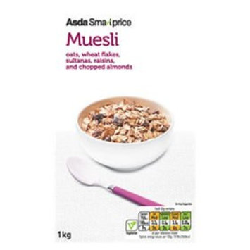 Asda Smart Price Muesli 1kg