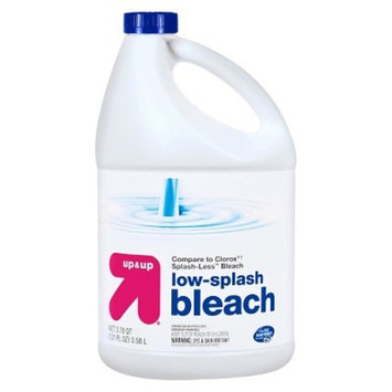 Bleach - Low Splash - Unscented - 121oz - Up&Up™ (Compare to Clorox® Splash-Less™ Bleach)