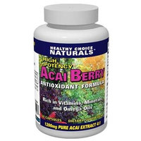 Acai Berry Extract 1200mg - Extra Strength 4:1 Concentrate/60-count Capsules