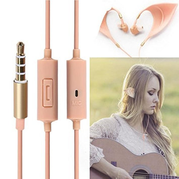 AutumnFall 3.5mm Elf Ears Earphones Cosplay Spirit Fairy HIFI Earbuds for Smartphone MP3/4