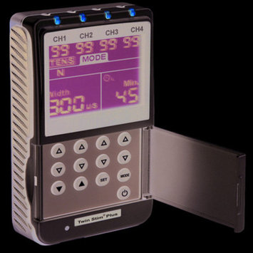 FEI 13-1349 Digital 4-Channel EMS/TENS Unit, Portable/Battery or AC A