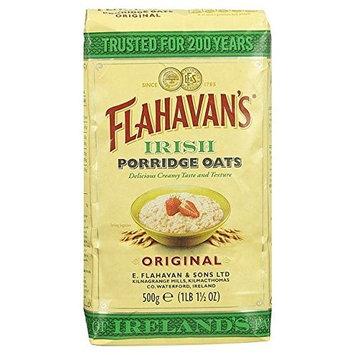 Flahavan's Irish Porridge Oats 500g Cereal (Pack of 2)