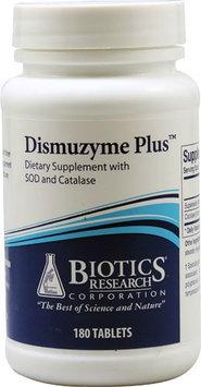Biotics Research - Dismuzyme Plus - 180 Tablets
