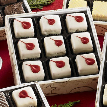 Gift Petits Fours [Milk Chocolate,Red Velvet, 9 count]