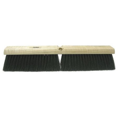 TOUGH GUY 4KNA2 Push Broom, Tampico, Smooth Surface