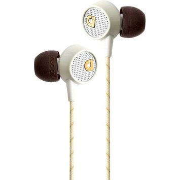 Audiofly AF56M In-Ear Headphones w/ Clear-Talk Mic Vintage White