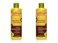 Alba Botanica Shampoo 12 oz and Conditioner 12 oz (Coconut Milk)