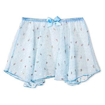 Danz N Motion by Danshuz Girls' Floral Tutu - Light Blue M, Lite Blue