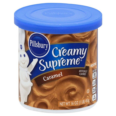 The J.m. Smucker Company Pillsbury Caramel Frosting - 16 oz, Brown