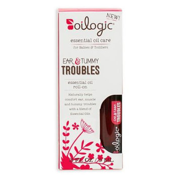 Oilogic Ear & Tummy Troubles Essential Oil Roll-On - 0.30oz