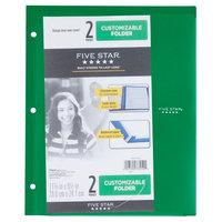 Five Star Plastic Folder, 2 Pocket - Multicolor, Multi-Colored