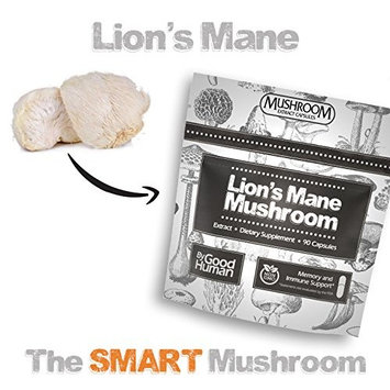 Pure Lion's Mane Mushroom | 90 capsules | Daily Supplement for Memory, Nerve Growth, Immune System