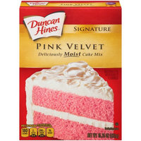 Pinnacle Foods Duncan Hines SIGNATURE LAYER CAKE MIX Pink Velvet 15.25 Oz