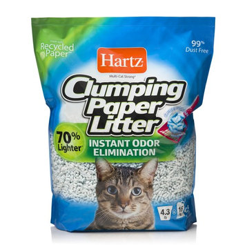 Hartz Clumping Paper Cat Litter