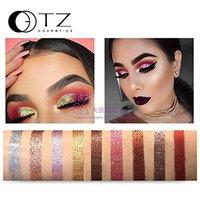 Binmer(TM) Shimmer Glitter Eye shadow Pressed Powder Pigment Eye Makeup Cosmetics Vibrant (F)