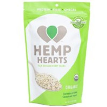 Manitoba Harvest Organic Hemp Hearts Raw Shelled Hemp Seeds, 12oz; with 10g Protein & Omegas per Serving, Non-GMO, Gluten Free