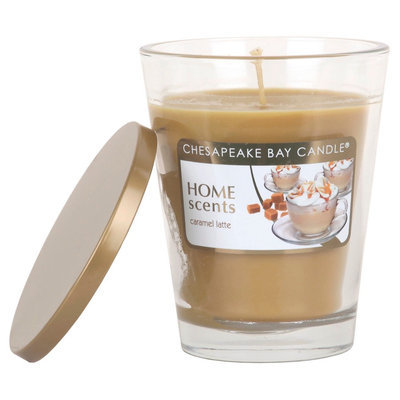 Home Scents Caramel Latte 11.5 oz Container Candle