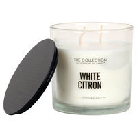 The Collection White Citron Jar Candle, Ivory