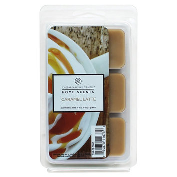 Pacific Trade Home Scents Melts Caramel Latte - 6 Pack, Brown