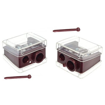 Trim Deluxe Lip & Eye Pencil Sharpener. 2-pack