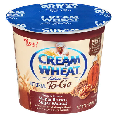 B & g Foods Cream Of Wheat Maple Brown Sugar Walnut Instant Hot Cereal - 2.29 oz