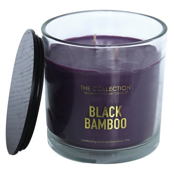Jar Candle Black Bamboo 13oz - THE Collection by Chesapeake Bay Candle, Dark Purple