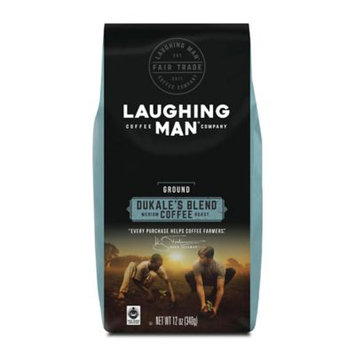 Laughing Man® 12 oz. Dukale's Blend Ground Coffee
