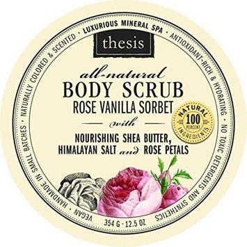 Body Scrub - Pink Himalayan Salt - Rose Vanilla Sorbet