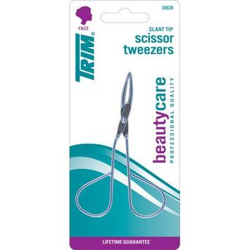The W.e. Bassett Company TRIM Slant Tip Scissor Tweezers