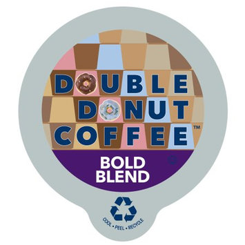 Double Donut Bold Blend Coffee, in Recyclable Single Serve Cups for Keurig K-Cup Brewers, 80 Count