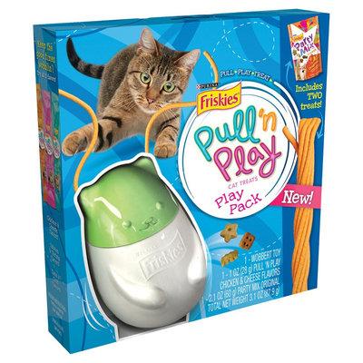 Friskies® Pull'n Play Pack String Cat Treats & Wobbert Toy