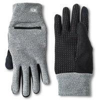 C9 Champion Women's Touch Screen Zipper Gloves Heather (Grey) S/M
