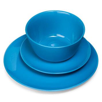 Room Essentials Coupe Blue 12 piece Dinnerware Set